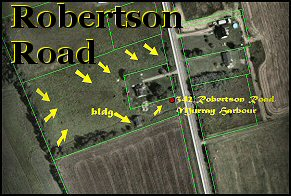 3.27 Acre buildign lot, Robertson Road, Murray Harbour, PEI, Canada