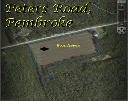 8.91 Acres, Peters Road, Pembroke, PEI, Canada