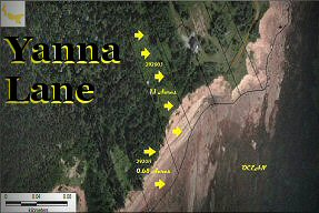 2 side-by-side oceanfront lots, Yanna Lane,  Beach Point, PEI